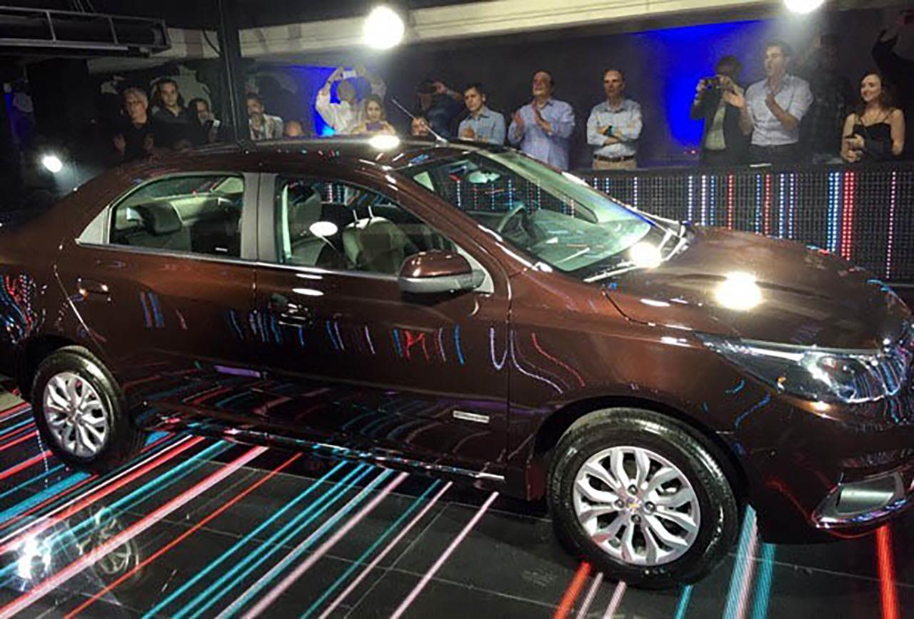 Chevrolet Cobalt Lançamento 2015